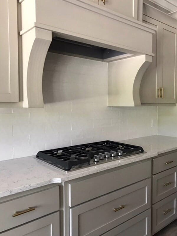 Light top cabinets in Baton Rouge, LA from Marchand's Interior & Hardware