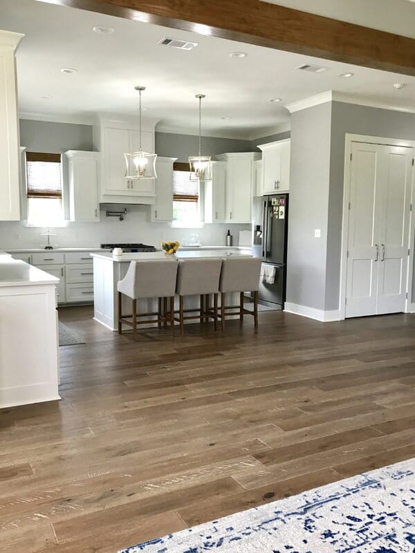 Wood-look kitchen flooring in Donaldsonville, LA from Marchand's Interior & Hardware