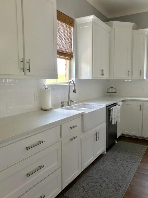 White kitchen design in Prairieville, LA from Marchand's Interior & Hardware