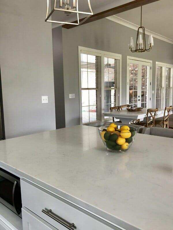Grey countertop in Ascension Parish, LA from Marchand's Interior & Hardware