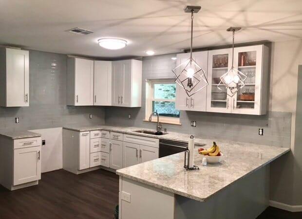 Large kitchen design in Ascension Parish, LA from Marchand's Interior & Hardware