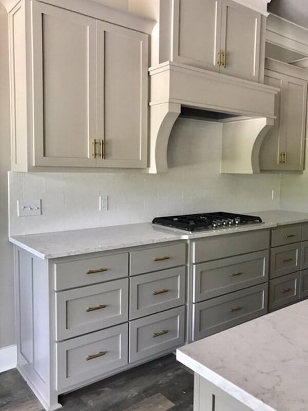 Multi-tone cabinetry in Baton Rouge, LA from Marchand's Interior & Hardware
