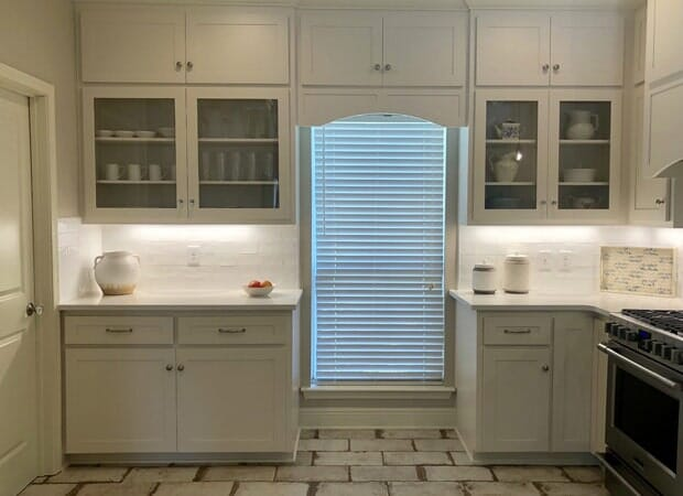 Rustic kitchen flooring in Baton Rouge, LA from Marchand's Interior & Hardware