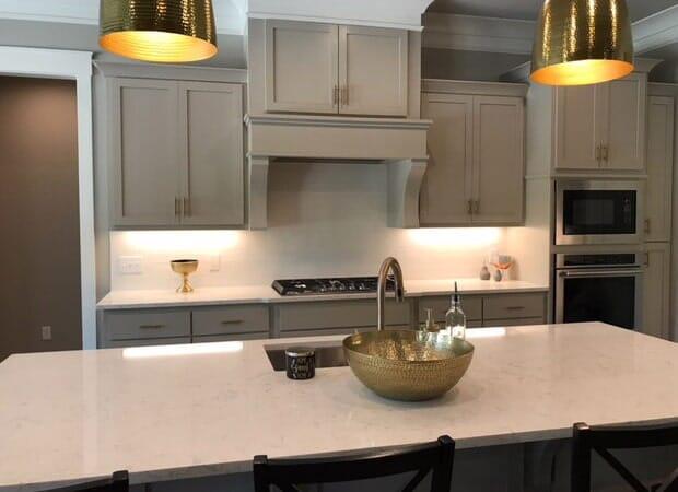 Custom kitchen design in Donaldsonville, LA from Marchand's Interior & Hardware