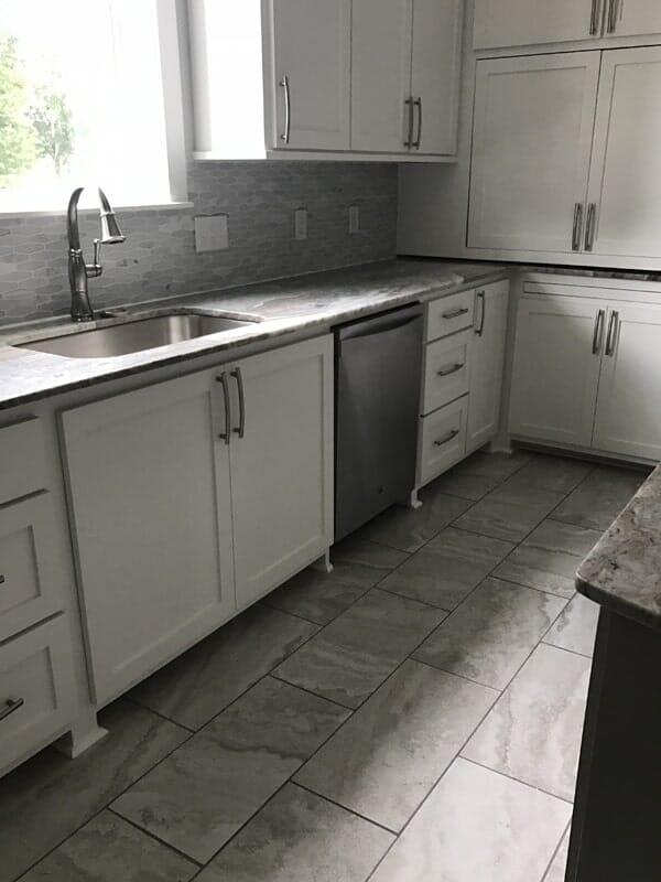 Modern kitchen design in Ascension Parish, LA from Marchand's Interior & Hardware