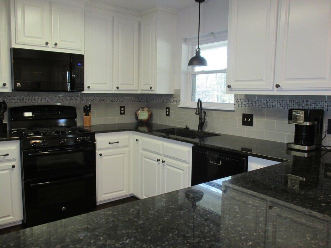 Kitchen remodel in Gonzales, LA from Marchand's Interior & Hardware