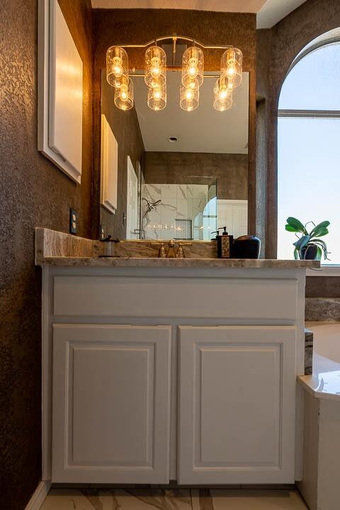 Bathroom vanity in Lewisville, TX from Floor & Wall Design