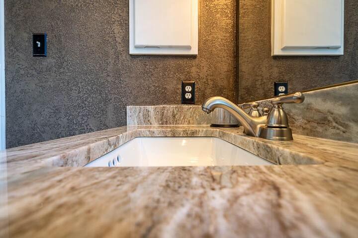 Bathroom countertops in Lewisville, TX from Floor & Wall Design
