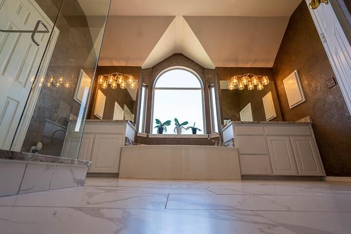 Bathroom remodel in Lewisville, TX from Floor & Wall Design