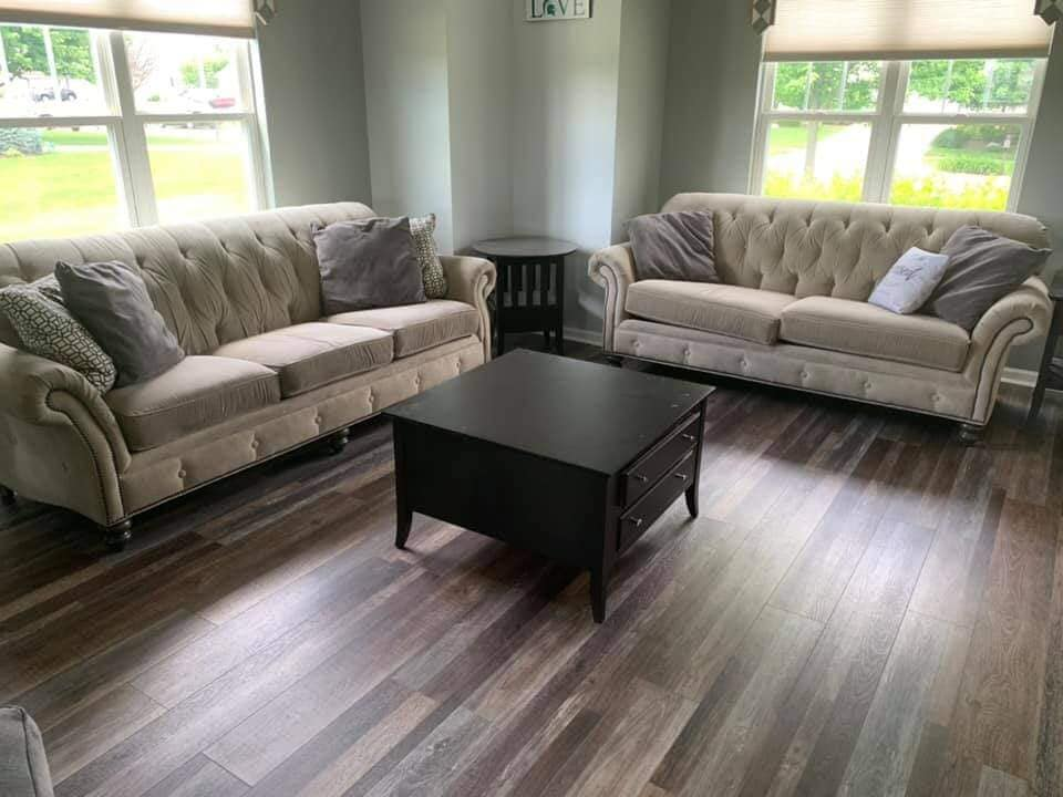 Vinyl plank flooring in Grand Haven, MI from Absolute Floor Covering