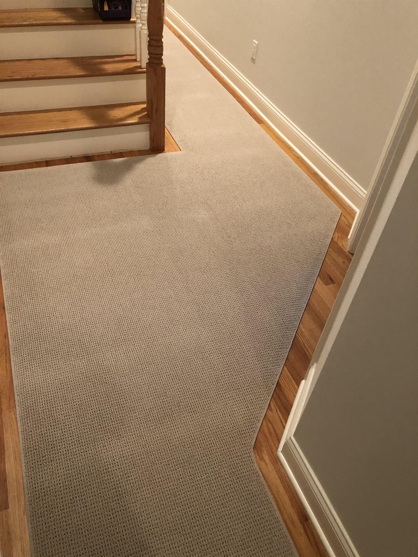 Carpet hallway runner in Stamford, NY from White Plains Carpets, Floors & Blinds