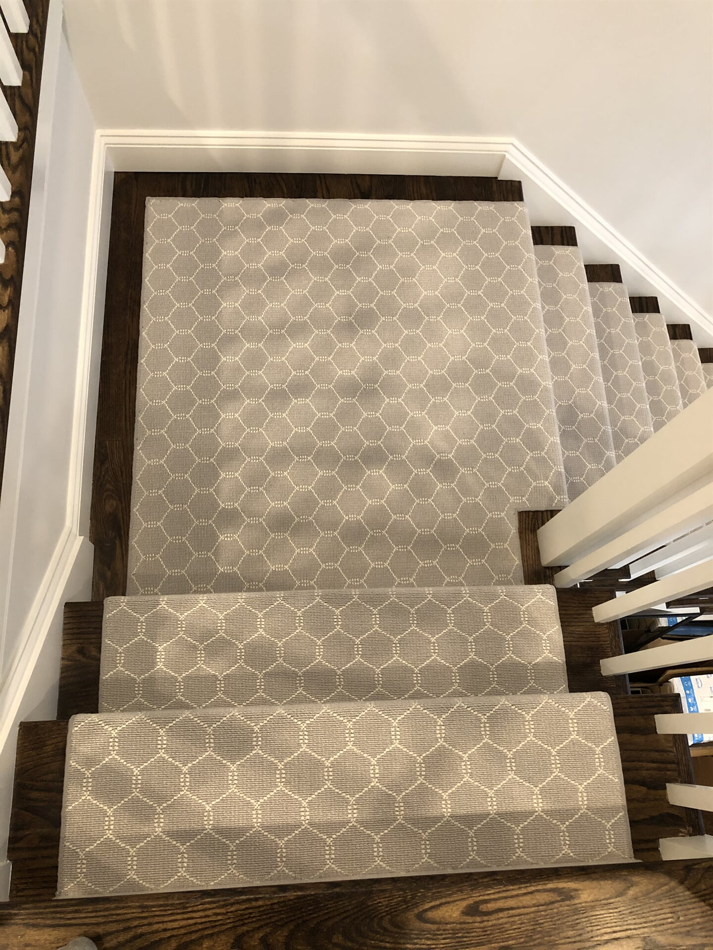 Carpet stairs in Fairfield, NY from White Plains Carpets, Floors & Blinds