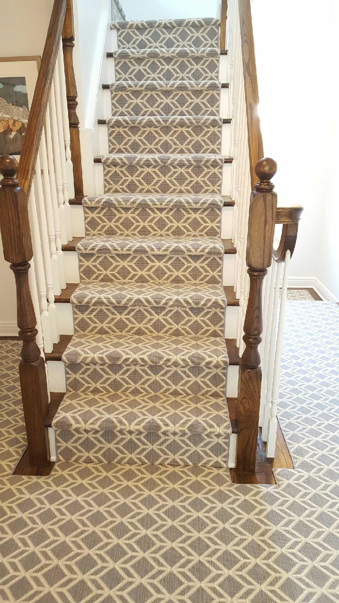 Stair runner in Manhattan, NY from White Plains Carpets, Floors & Blinds