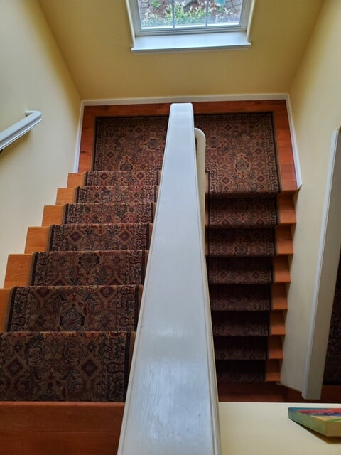 Carpet stair runner in Sherwood, OR from Marion's Carpet & Flooring Warehouses
