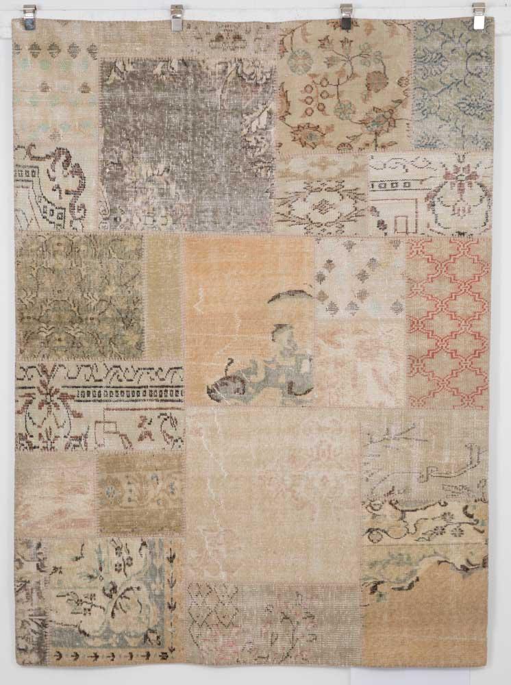 Turkey – Antique Wash Patchwork, 7' x 5'2