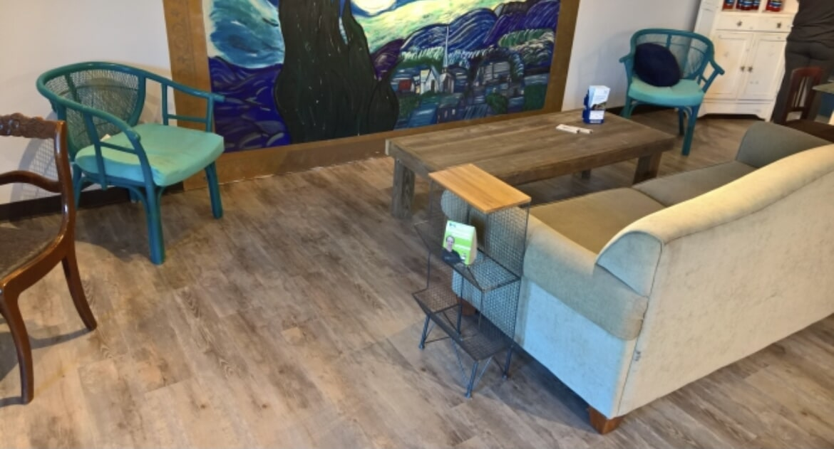 Commercial sitting area in Baton Rouge, LA from Marchand's Interior & Hardware