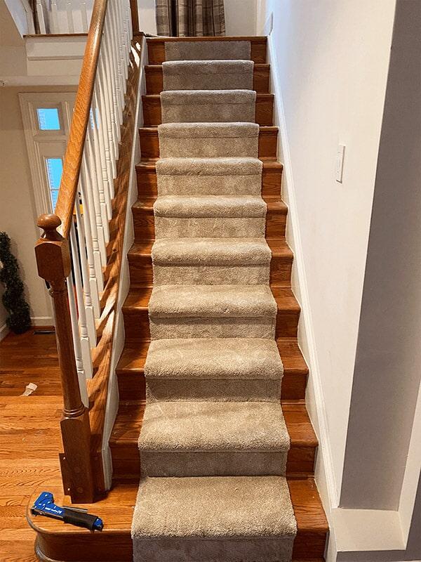 Carpet stair runners in Tysons, VA from Carpet & Floor Express