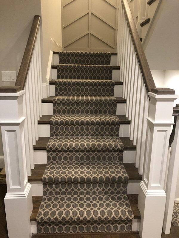 Carpet stair runner in Tysons, VA from Carpet & Floor Express