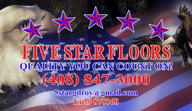 Five Star Floors in Gilroy, CA