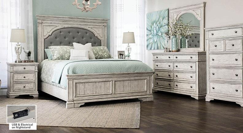 Steve-Silver-Highland-Park-bedroom