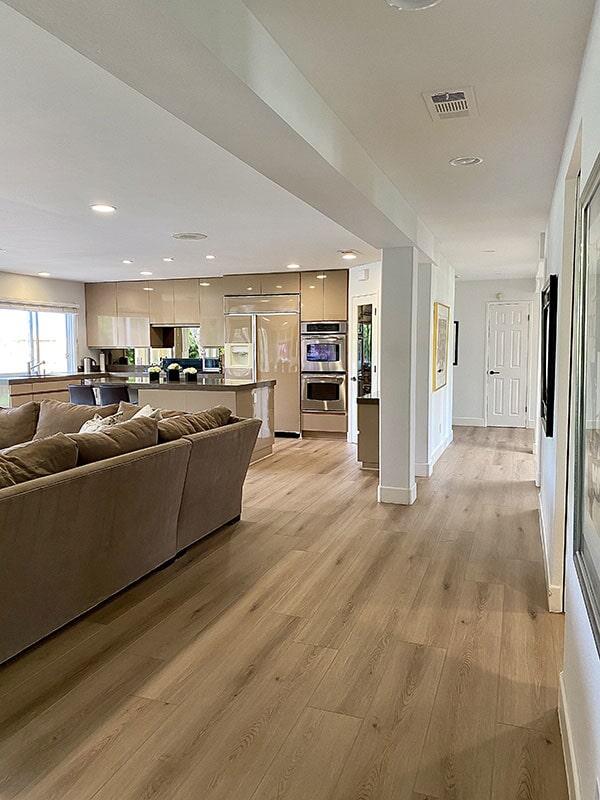 Luxury vinyl flooring in  from Metro Flooring