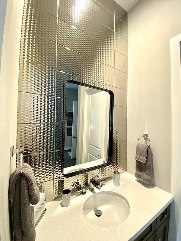 Bathroom tile in  from Metro Flooring