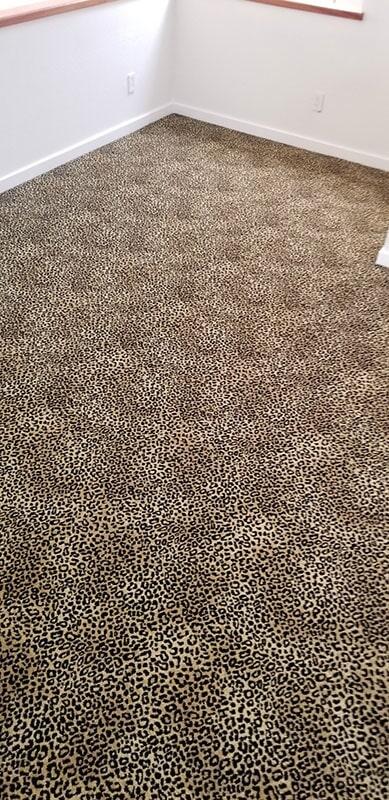 Leopard carpet flooring in Honolulu, HI