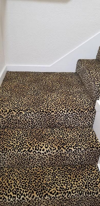 Leopard print carpet in Honolulu, HI from Bougainville Flooring Super Store