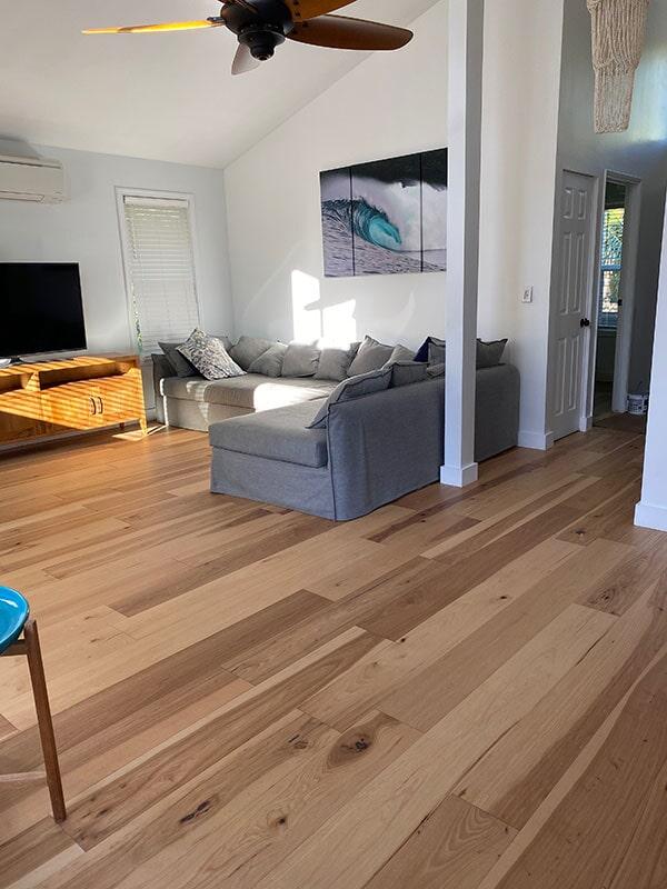 Shaw Exquisite: Natural Hickory hardwood flooring in in Honolulu, HI