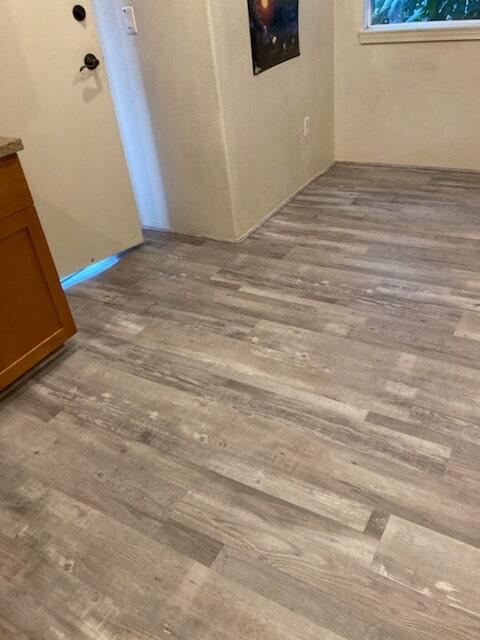 Builder's Choice: Grey Ash vinyl plank flooring in Ewa Beach, HI