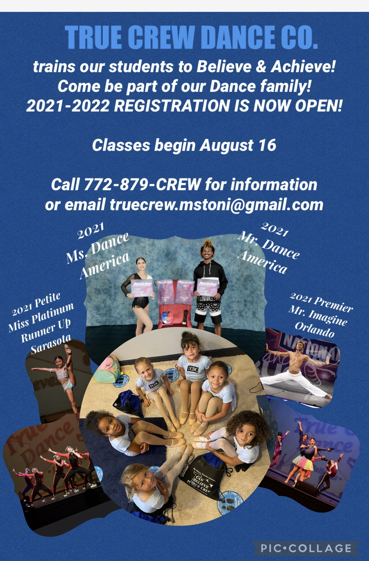 Be Part of our Dance Family