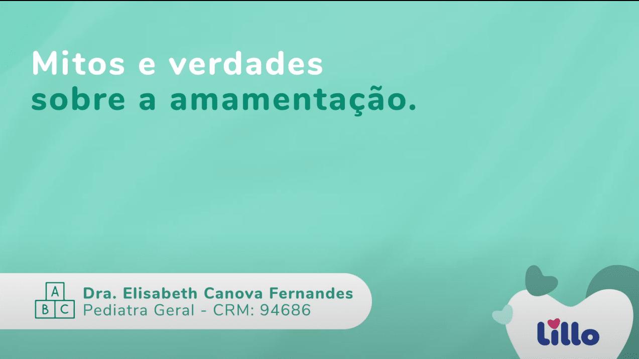 Março de 2021   Dra. Elisabeth fala sobre amamentação para o canal da Lillo do Brasil no Youtube