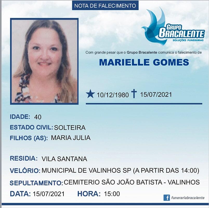 Marielle Gomes | 10/12/1980 - 15/07/2021