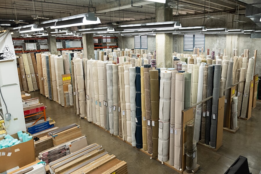 Bougainville Flooring Super Store warehouse near Aiea, HI