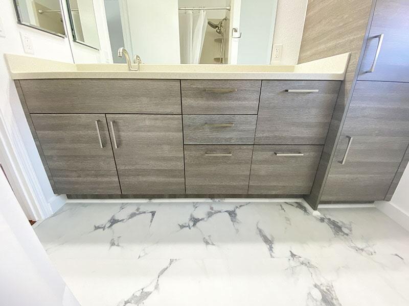 Bathroom cabinets in Aiea HI from American Floor & Home