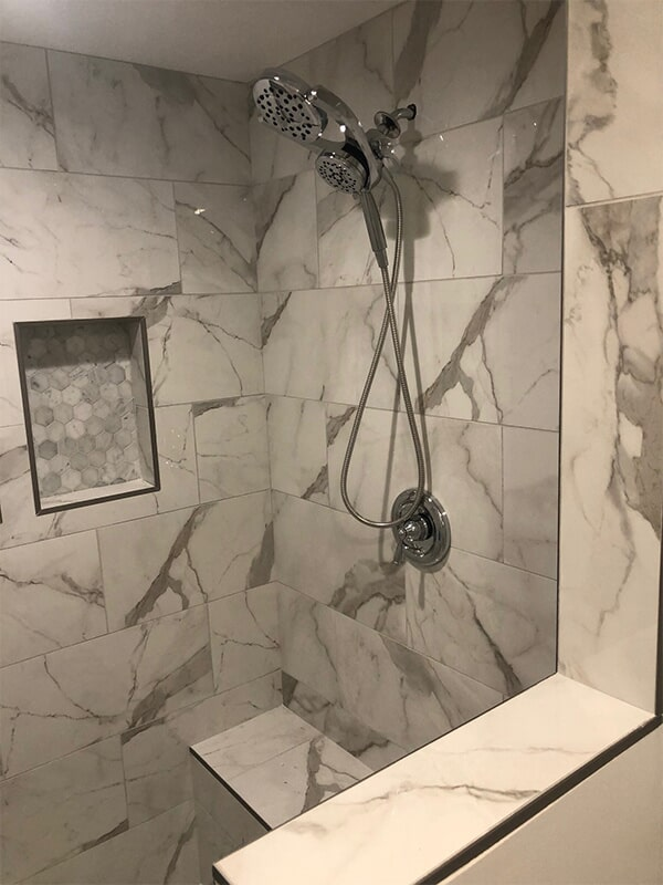 Shower tile in Germantown, MD from FLOORMAX