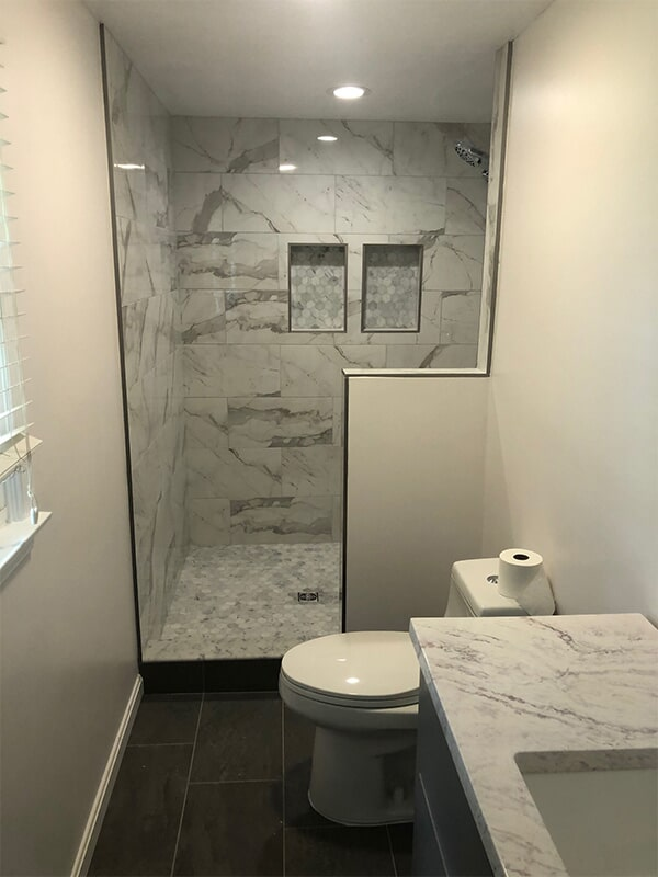 Bathroom tile in Laurel, MD from FLOORMAX