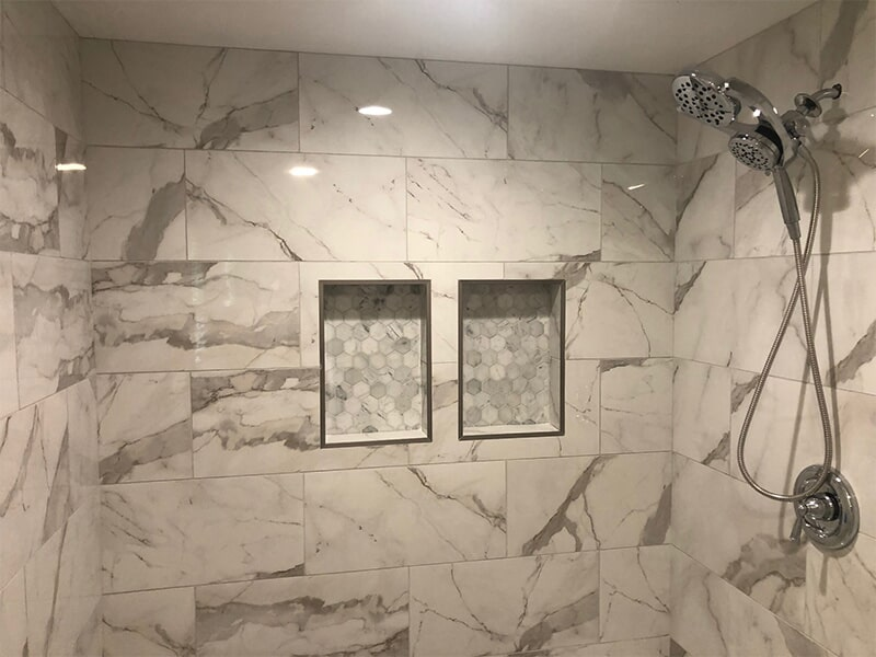 Shower tile in Silver Spring, MD from FLOORMAX