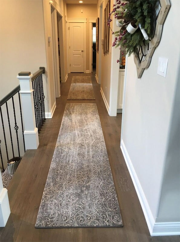 Custom hallway runners in Cedar Lake, IN from Yancey's House of Carpets