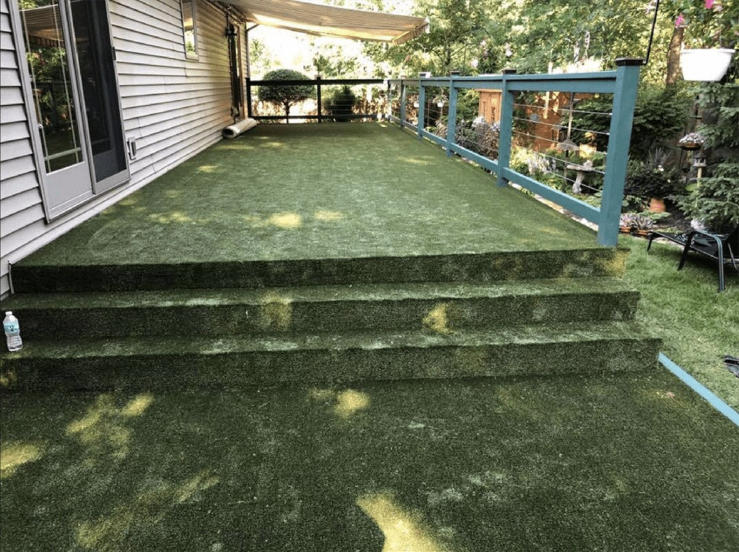 Outdoor carpet in Scheraville, IN from Yancey's House of Carpets