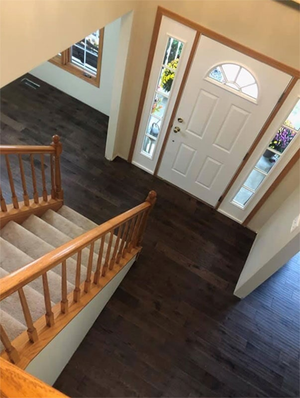 Solid wood floors in Crown Point, IN from Yancey's House of Carpets