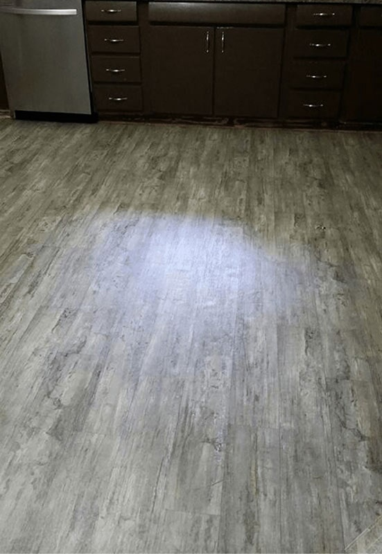 Weathered-look vinyl plank flooring in Crown Point, IN from Yancey's House of Carpets