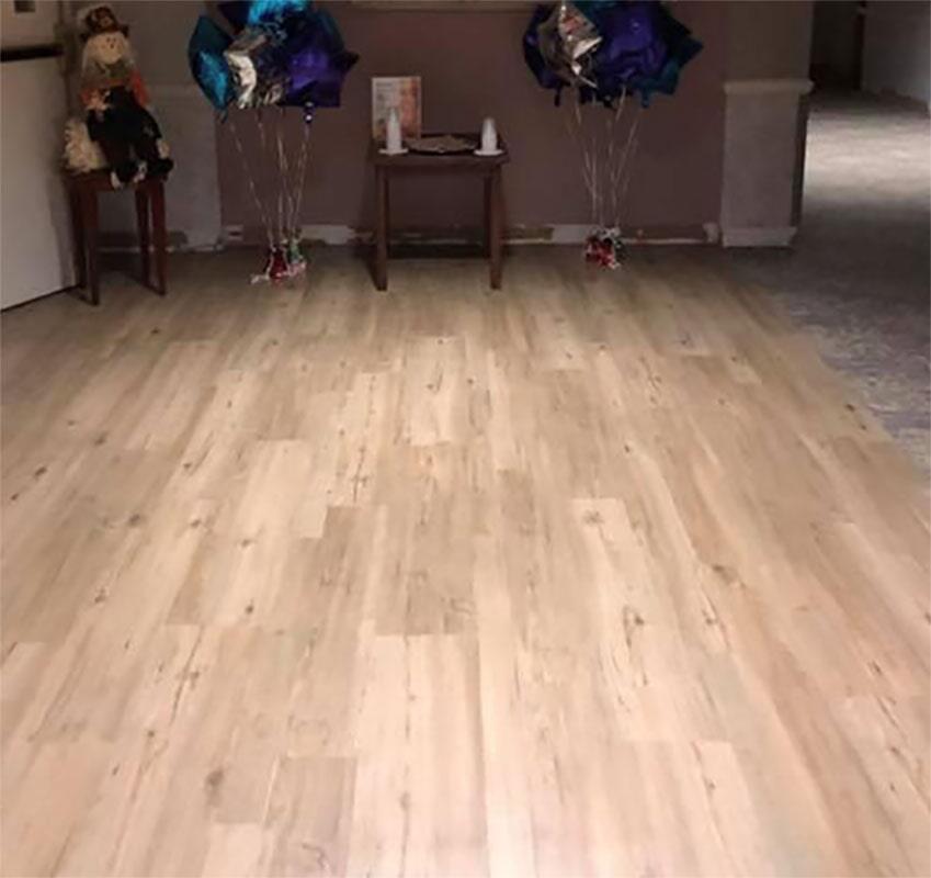 Luxury vinyl flooring in Saint John, IN from Yancey's House of Carpets