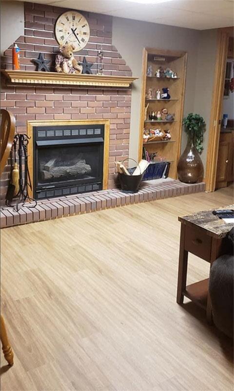 Earthwerks vinyl plank flooring in Lowell, IN from Yancey's House of Carpets