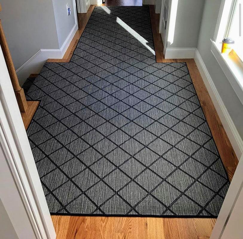 Custom hallway runner in  from Bell's Carpets & Floors