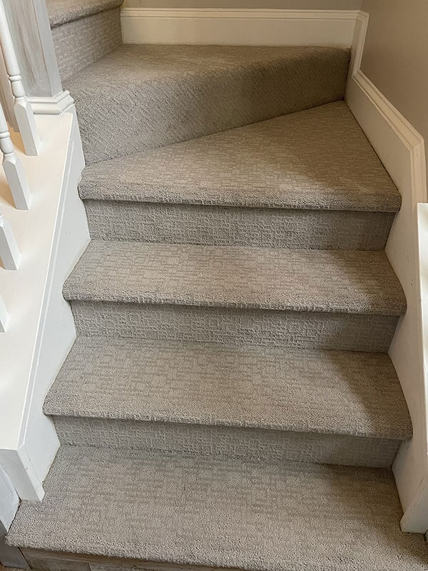 Carpet staircase in  from Bell's Carpets & Floors