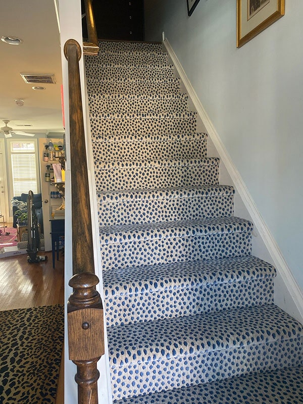 Carpet stairs in  from Bell's Carpets & Floors