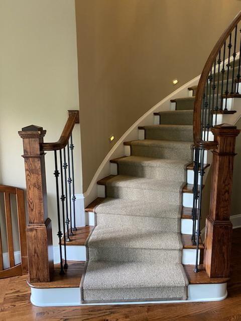 Stair runner in  from Bell's Carpets & Floors