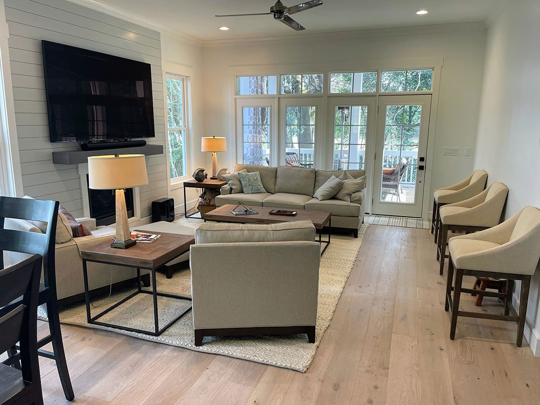 Hardwood flooring in  from Bell's Carpets & Floors