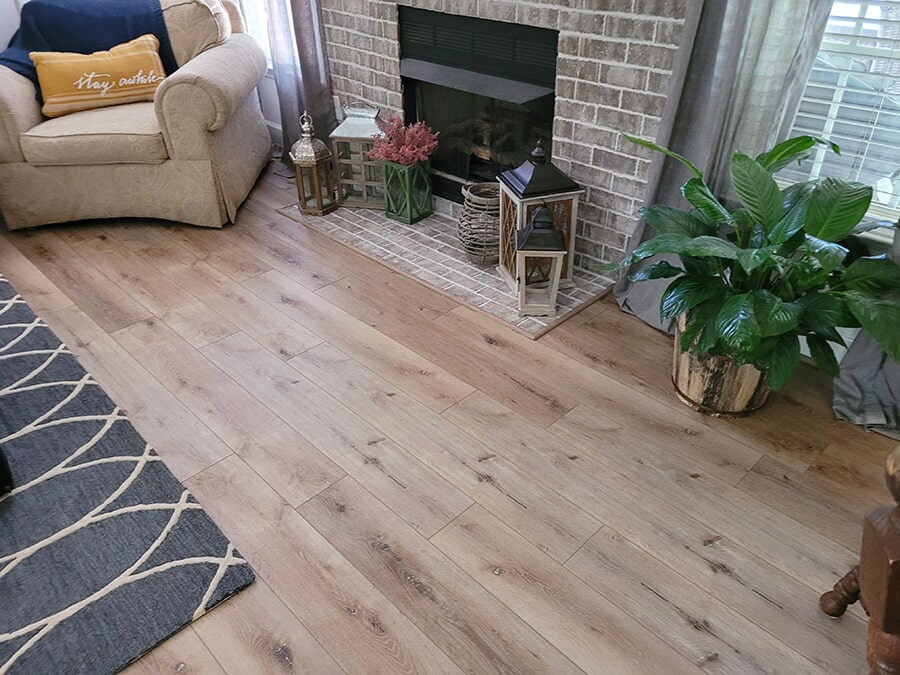 Hardwood flooring from Carpet Outlet Of Shelby County in Columbiana, AL